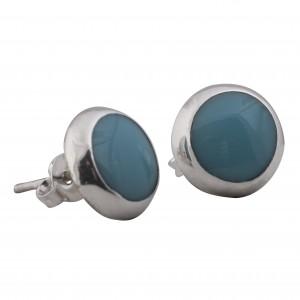 Turkish stone silver earrings